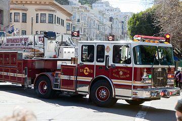 San Francisco Fire Department - Feuerwehrauto von t.ART