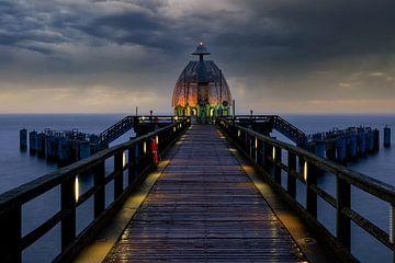 Duikgondel van de pier Sellin van Tilo Grellmann | Photography
