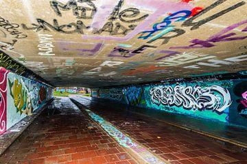 Graffiti..Streetart van Brian Morgan
