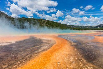 Yellowstone Geyser 005 van Jan Peter Mulder