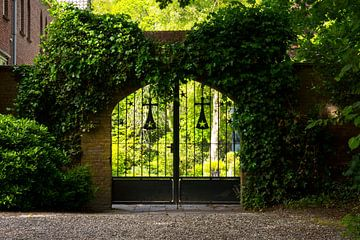 Zaun Klostergarten von Gert-Jan Kamans
