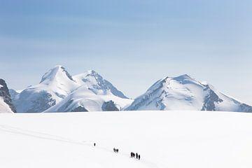 Matterhorn glacier paradise van