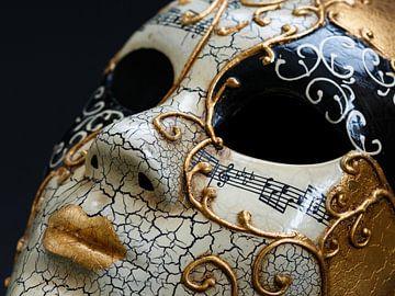 Venezianische Maske von Hilda booy