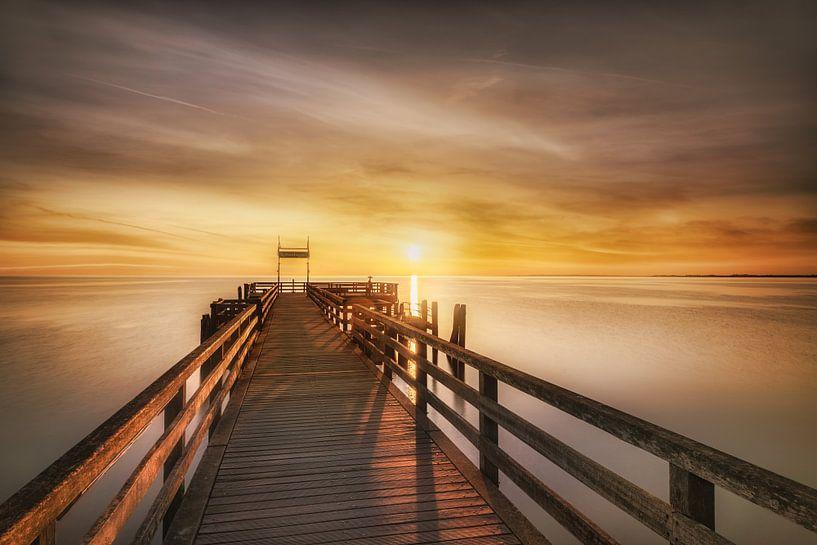 Boltenhagen Seebrücke zum Sonnenaufgang von Voss Fine Art Fotografie