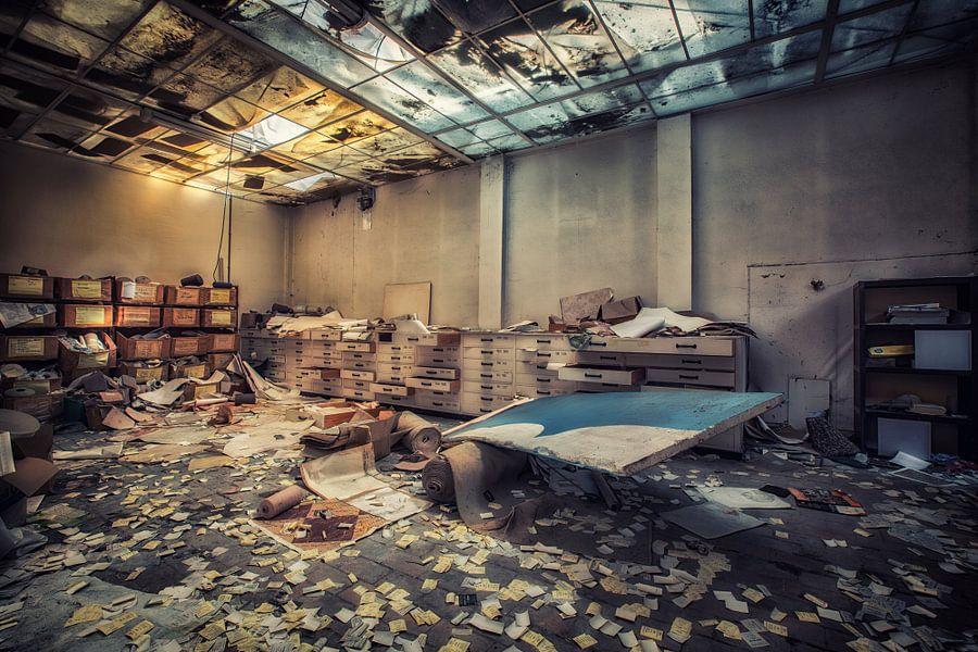 Het magazijn van Steven Dijkshoorn