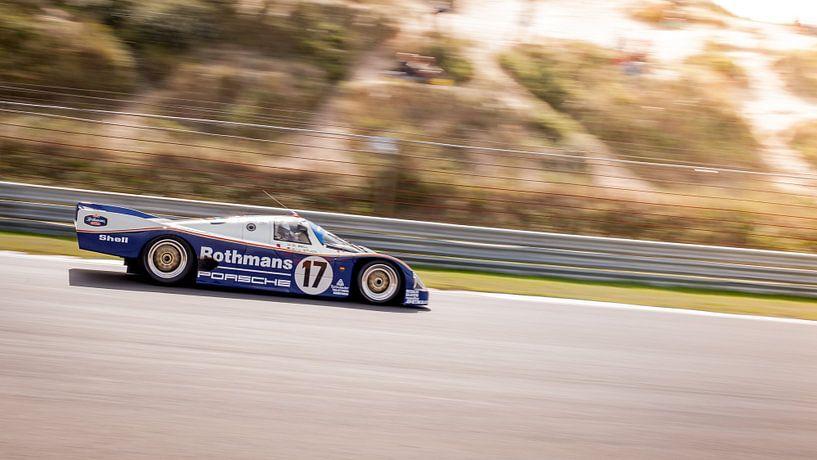 Le Mans Porsche 956 Rothmans van Arjen Schippers
