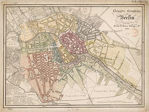 Berlin, Karte 1826