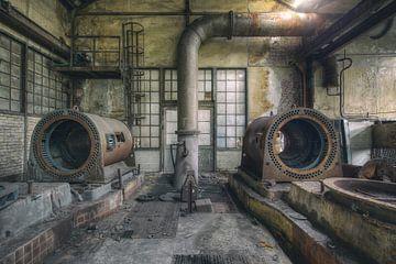 verlassene Stahlrohre von Kristof Ven