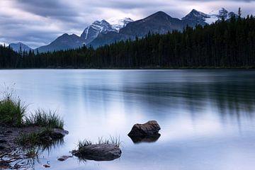 Herbert Lake, Banff National Park, Alberta, Canada van Alexander Ludwig