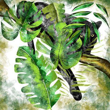 Jaguar - Der schwarze Jäger des Dschungels van Patricia Piotrak