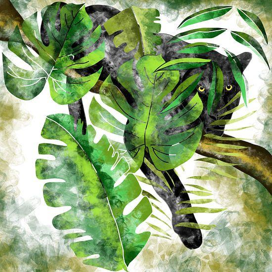 Jaguar - Der schwarze Jäger des Dschungels