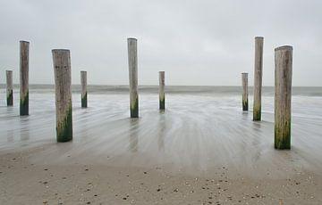 Nordsee küste von Jeannette Kliebisch