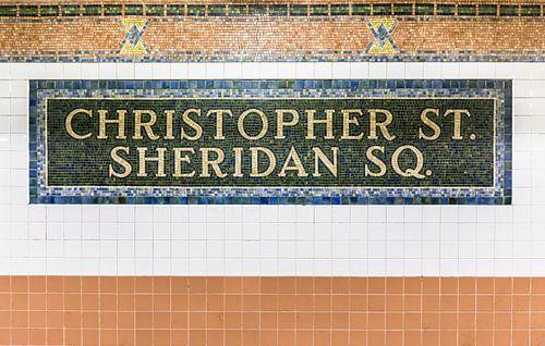 New York Subway Art van Inge van den Brande