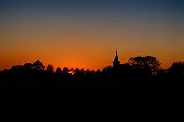 Sonnenuntergang #1 von Mario Bentvelsen