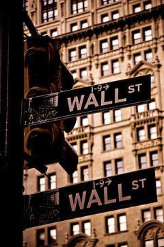 Wall Street New York von Maarten De Wispelaere