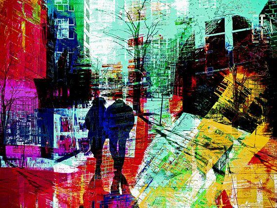 A couple in the city van Gabi Hampe