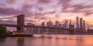 New York Skyline - Brooklyn Bridge 2016 (2)