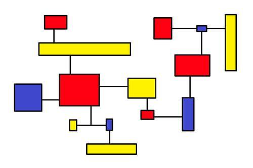 Mondrianoïde 7