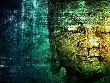 blauwe boeddha van Claudia Moeckel