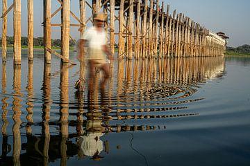 fischer au pont U-leg sur Stefan Havadi-Nagy