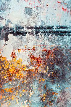 Bunte Abstraktion von Tijmen Hobbel