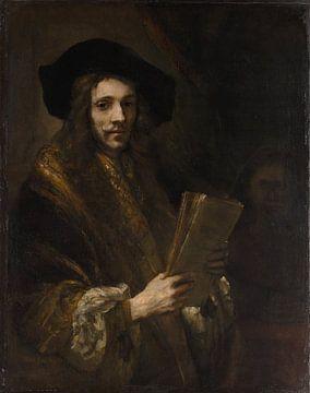Porträt eines Mannes ( 'Der Auktionator'), Nachfolger von Rembrandt