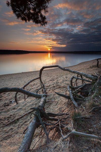 *** Sonnenuntergang am See *** van Markus Busch