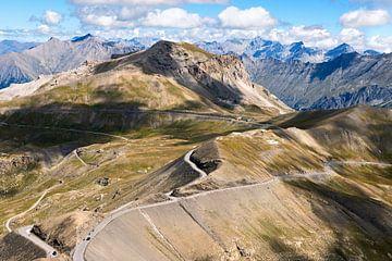 uitzicht vanaf de Col de la Bonette van