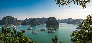 Panorama Halong Bay, Vietnam van