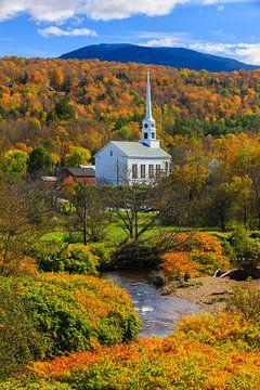 Herbst in Stowe, Vermont