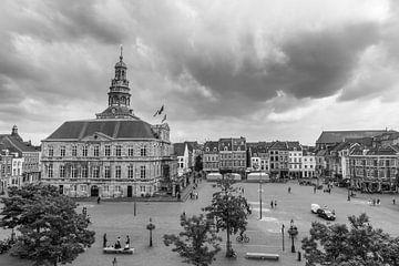 Der Markt von Maastricht von Ivo de Rooij