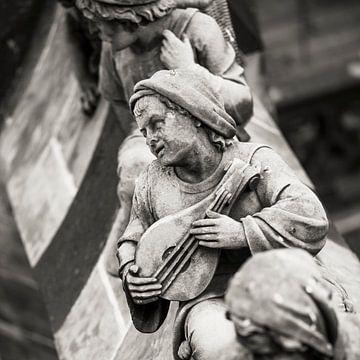 Die Luftbogenstatuen oder -tüllen der St. Johannes-Kathedrale in 's-Hertogenbosch, von Marcel Bakker