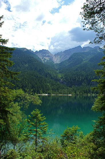 Bergmeer in Italië, Dolomieten  van Jeroen van Deel