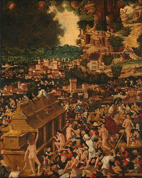 Die Flut, Unbekannter Künstler aus dem 15. Jahrhundert