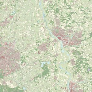 Kaart vanVoorst