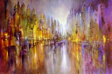 Stad aan de rivier van Annette Schmucker