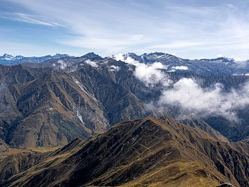 De Zuidelijke Alpen van Nieuw-Zeeland van Rik Pijnenburg