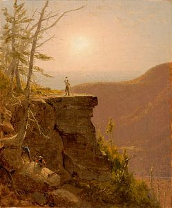 A Ledge on South Mountain, in den Catskills, Sanford Robinson Gifford