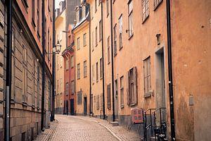Straten van Stockholm van