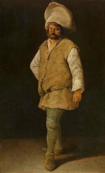 Ein Pförtner, Adriaen Brouwer von Meesterlijcke Meesters