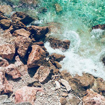 Koraal Blauwe Zee van Wahid Fayumzadah