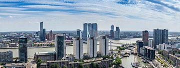 Panorama richting Rotterdam Zuid von Midi010 Fotografie