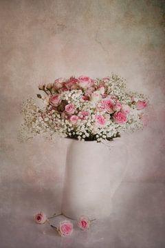 Stilleven met rozen van Claudia Moeckel