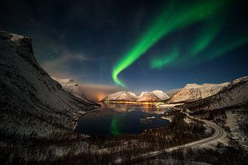 Aurora über Bergsbotn von Wojciech Kruczynski