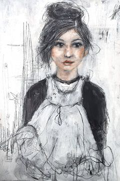 haar oude jurk van Christin Lamade