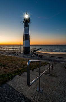 Leuchtturm von Breskens von Peter Deschepper