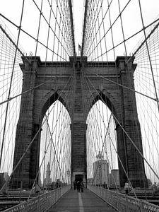 Brooklyn Bridge - New York City van Carmen Fotografie