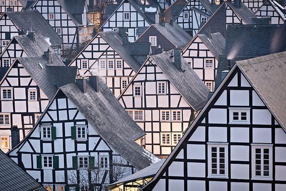 Traditionele vakwerkhuizen in Duitsland