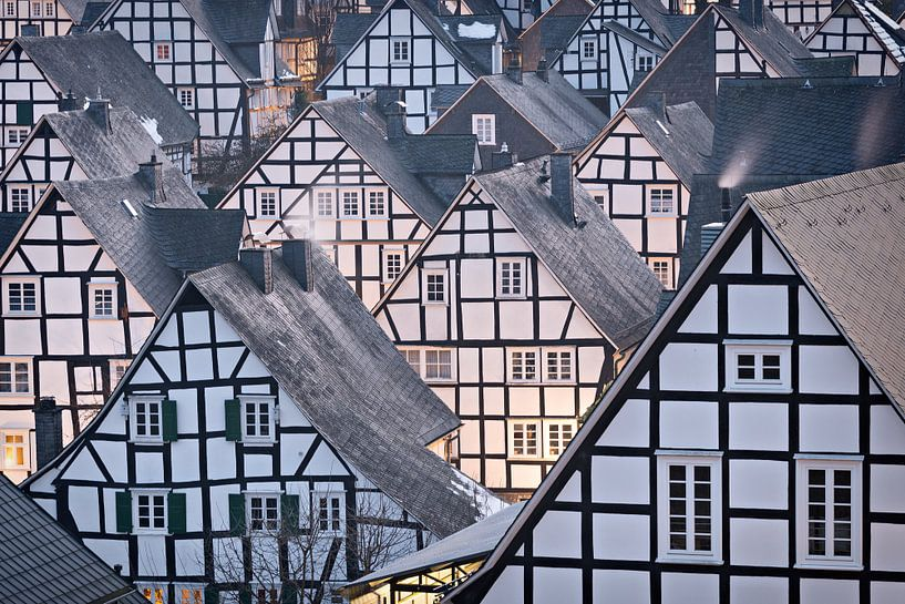 Traditionele vakwerkhuizen in Duitsland van iPics Photography