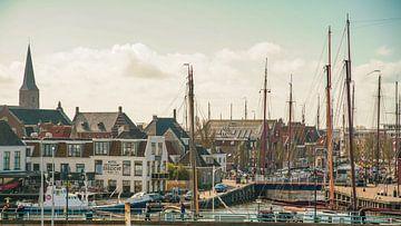 Port de Harlingen sur Dirk van Egmond